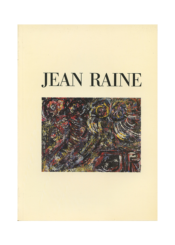 catalogue jean raine