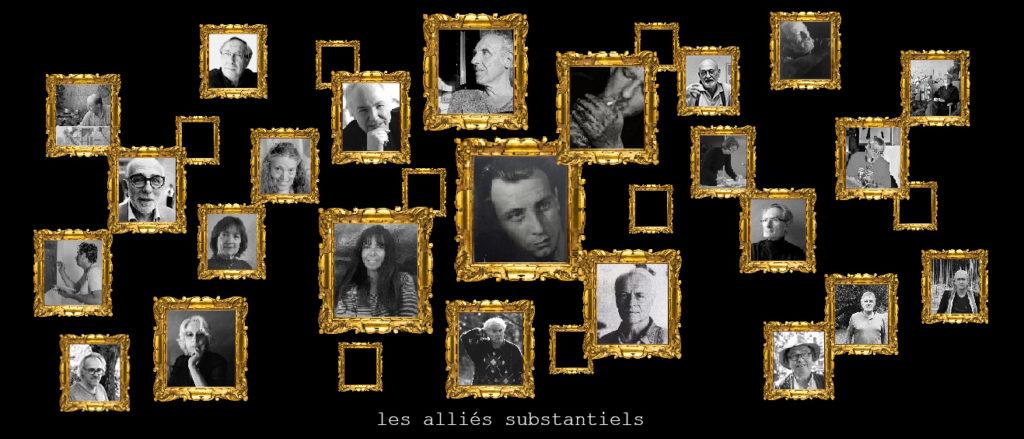 portraits artistes galerie