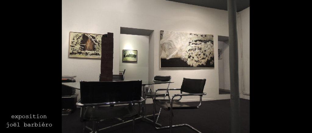 exposition peintures Joël Barbiéro