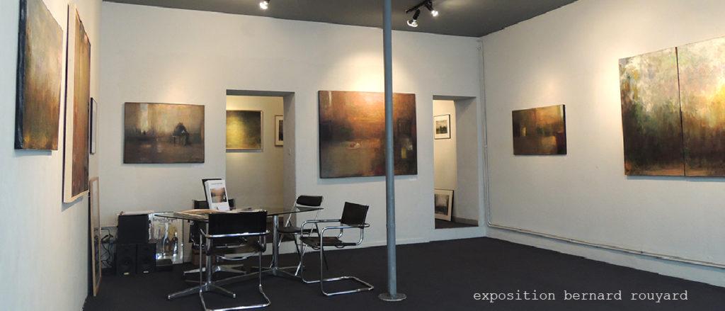 exposition peintures Bernard Rouyard