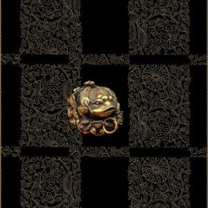 pendentif chinois laiton